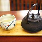 浪花家総本店 - 煎茶セット
