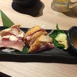 名古屋コーチン×個室居酒屋 鶏茂 - 地鶏のタタキ