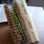 ボー・ションドブレ - サンドイッチ