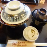 函館朝市豚丼ポルコ - 2010/12再訪 特製豚丼980円