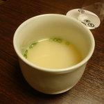 八起庵 丸太町本店 - 鶏スープ