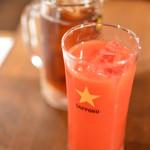 だいじゅん - トマトジュースと黒ウーロン茶