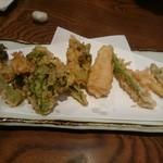 62542846 - 春野菜の天ぷら