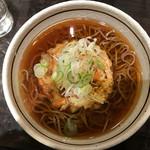 峠の釜めし本舗 おぎのや - 天ぷら蕎麦