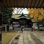 木の実 - 小岩神社。
