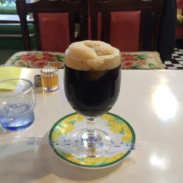 木の実 - アイスコーヒー。