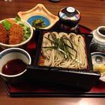 62548957 - 選べるミニ丼膳  カキカツ