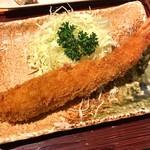 まるは食堂 - まるは定食の海老フライ