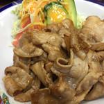 味盛 - 料理写真:生姜焼き定食650円