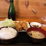 牡蠣バル - 牡蠣フライ定食