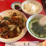 李家 - 酢豚定食