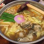 めんちゃんこ亭 - かき味噌めんちゃんこ