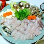 みづ乃 - 温泉トラフグ鍋