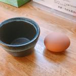 石かわ - ゆで卵60円
