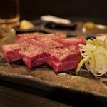京都 ぐら - 厚切り牛タン(1380円)