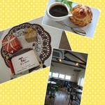 ツボ デ スイーツ - 一階が ケーキ屋さん 二階が  カフェと レストラン
