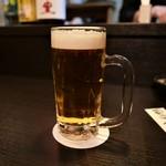 京都 ぐら - 生ビール