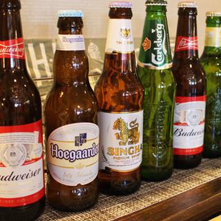 世界のビール揃えています!