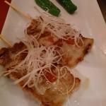 まんぷく食堂 - 豚バラ串焼き
