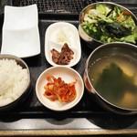 62571927 - ご飯、スープなど