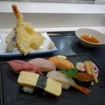 巣鴨寿し常 - 「寿し天ぷら定食」