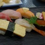 巣鴨寿し常 - 「寿司」 握りは6貫