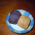 力餅  - きな粉餅&あんころ餅