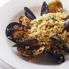 モナリザン - 料理写真:自家製つぶつぶパスタのフレーゴラ!サルデーニャ州の郷土料理です。