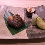 鮨 恵三 - 黒むつ きぬかつぎ