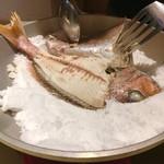 イタリア料理 リストランテ フィッシュボーン - 綺麗に取り分けられます