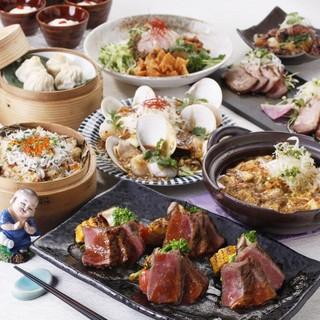 宴会ご予約受付中!中華の醍醐味が詰まった本格コースをご用意!
