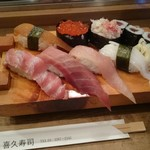 喜久寿司 - 特上の図