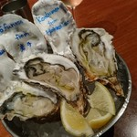 FISHMANS SAPPORO - 生牡蠣食べ比べセット