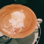 喫茶 ほんまち - カプチーノ♡