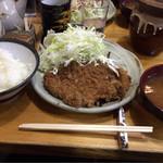 豊島屋 - ロースかつ定食  950円