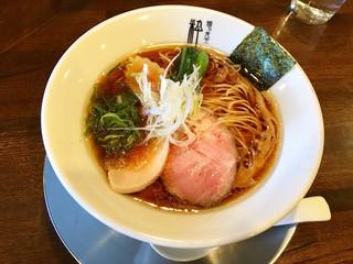 麺's食堂 粋蓮 - 丸鶏醤油らぁ麺