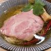 自家製麺 くろ松 - 料理写真:中華そば(白醤油)