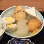 一平 - おでん定食 850円(税込)