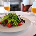 星野リゾート 界 熱海 - 朝食のオレンジジュースはとてもフレッシュ!