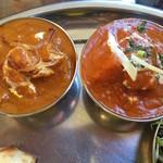 インディアンオーブン - コンビカレーセットのカレー2種