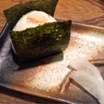 勝元 - おにぎり(鮭)(200円税別)
