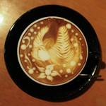 イクジーノ カフェ - 2017年2月再訪:ラテ・ソルトキャラメル☆