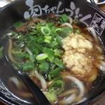肉ちゃんうどん - 肉うどん  生姜多め 660円