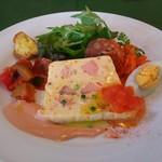 南フランス料理 パスティス - 料理写真:前菜が既にてんこ盛りです
