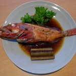 和食 ひと塩 - キンキの煮つけ。最近は高級魚です。