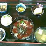 626436 - マグロ丼定食840円