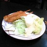 串かつ 玉家 - ソース串カツ