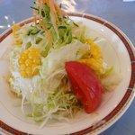 洋食舎けやき - チキンの方のサラダ