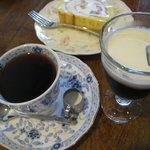 ブーケ - 1/2アイスコーヒー+珈琲500円