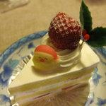 ベーカリーショップ アン - クリスマスバージョンショートケーキ